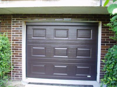 garážová vrata trido hnědá