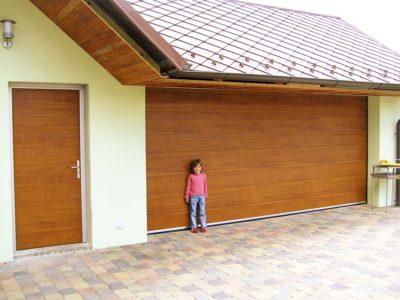 garážová vrata trido velká