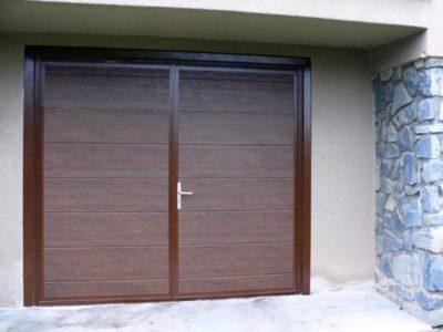 dvoukřídlová vrata
